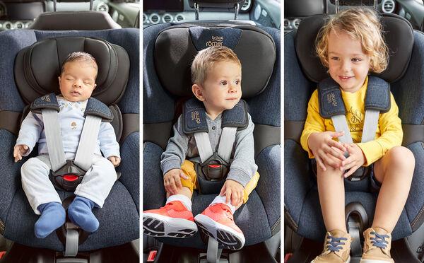 4 Jahre, 200 Wochen, 1500 Tage, 1 Kindersitz – die Konstante in Sachen Komfort