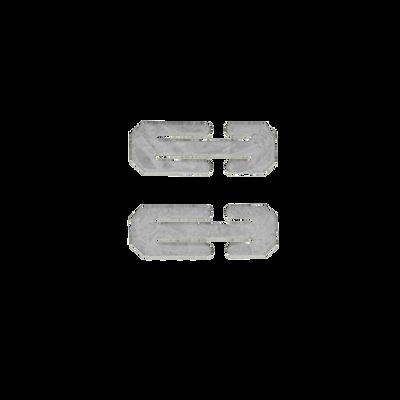 Britax Zweischlitzplatte Set