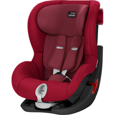 Britax KING II - Black Series Flame Red