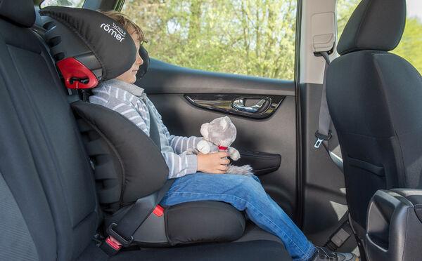 Bequem und sicher – unser Kindersitz mit Rückenlehne