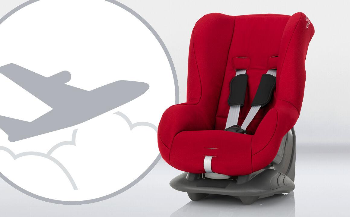 kindersitz for use in aircraft sicher fliegen mit babys. Black Bedroom Furniture Sets. Home Design Ideas