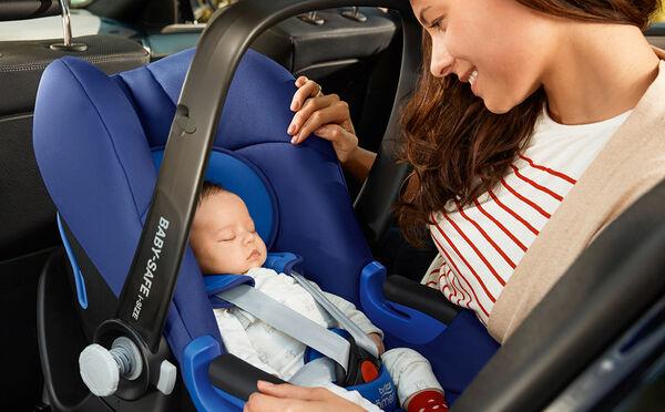 Beruhigende Sicherheit für die ersten Fahrten mit Baby