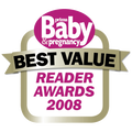Best Value Award Prima Baby & Pregnancy UK 2008