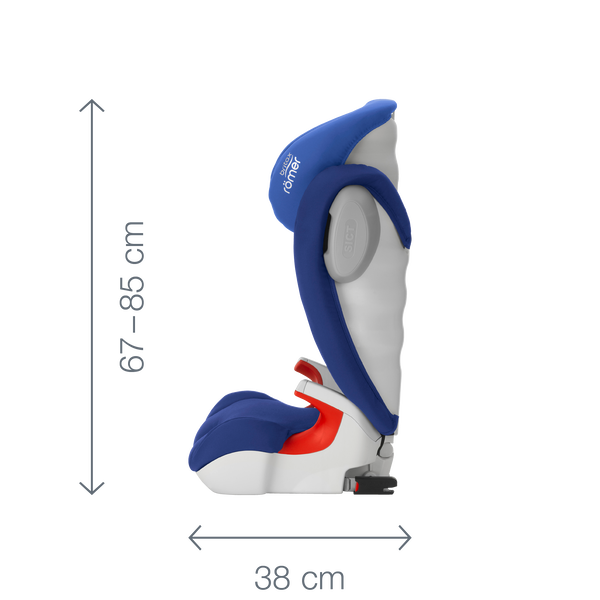 Folkekære KIDFIX SL SICT - highback booster | Britax Römer FK-93