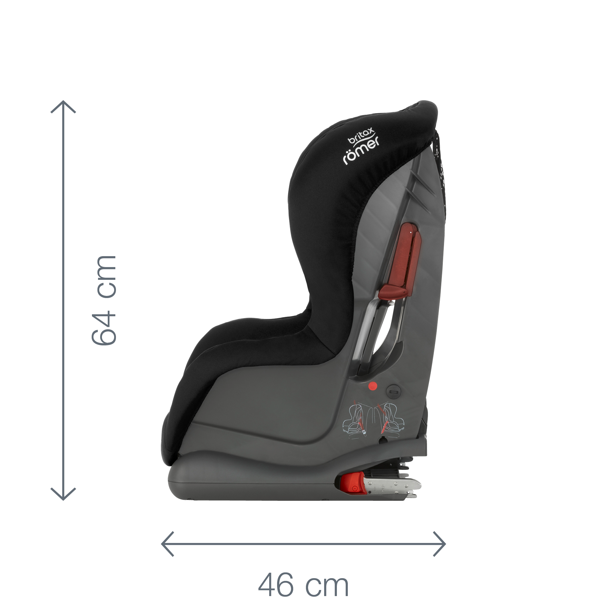 moonlight Blue Autositz Gruppe 1 Britax Römer Duo Plus , 9-18 Kg