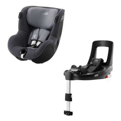 Britax DUALFIX iSENSE Set Midnight Grey