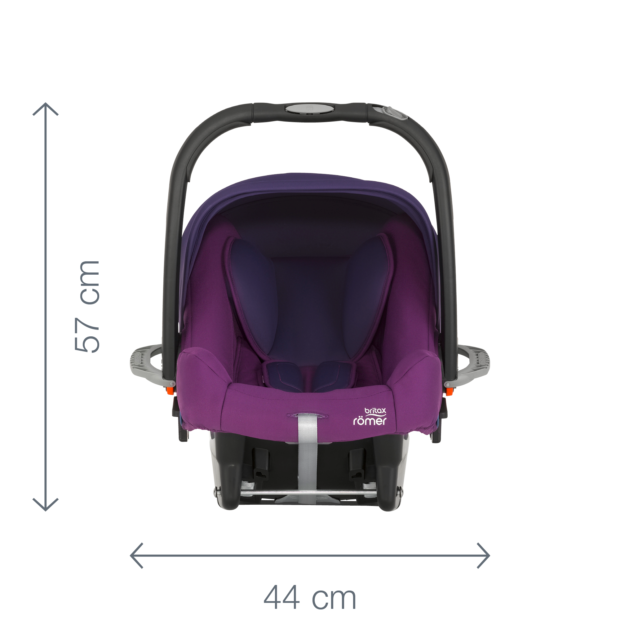 Auto-kindersitze Auto-kindersitze & Zubehör Sonnig Babyschale/autositz Britax Römer Baby-safe Plus Ii