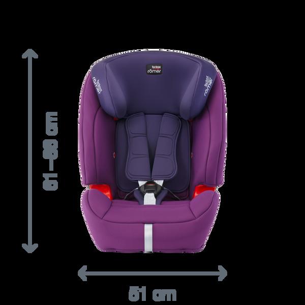 EVOLVA 1 2 3 SL SICT, Britax, Romer, Car Seat, คาร์ซีท,
