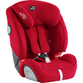 Britax EVOLVA 1-2-3 SL SICT Fire Red