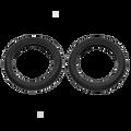 Britax Rear Wheel Tyre Set