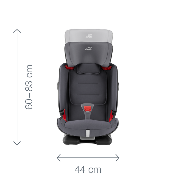 britax r mer advansafix iv r 11 farben babyton. Black Bedroom Furniture Sets. Home Design Ideas