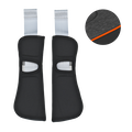 Britax Shoulder Pad Set Black Marble