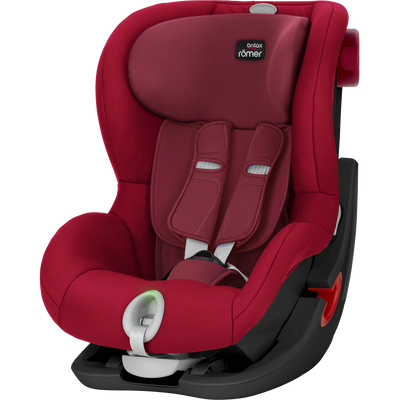 Britax KING II LS - Black Series Flame Red
