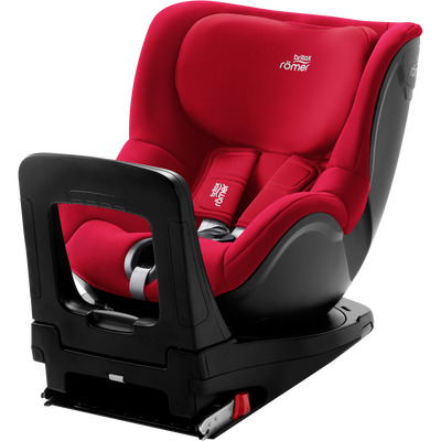 Britax DUALFIX Z-LINE Fire Red
