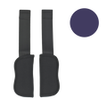 Britax Schulterpolster Set Mineral Purple