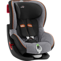 Britax KING II LS - Black Series Black Marble