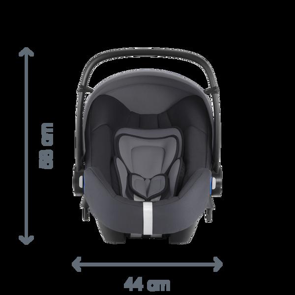 britax r mer babyschale baby safe i size bundle inkl. Black Bedroom Furniture Sets. Home Design Ideas